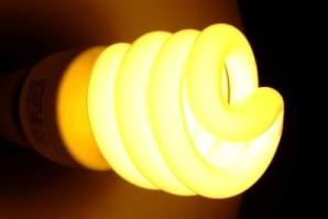 Почему мигает энергосберегающая лампа после выключения?
