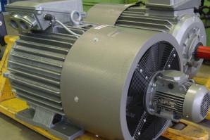 Охлаждение электродвигателя переменного и постоянного тока