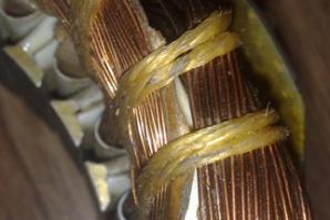 Пусковая обмотка однофазного двигателя