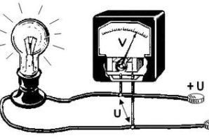 Измерение тока и напряжения мультиметром
