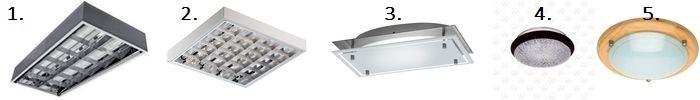 Накладные потолочные светильники: установка и подключение