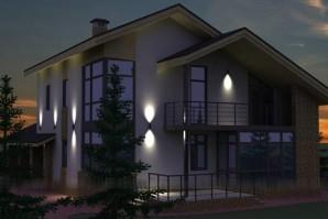 Установка и подключение светильников уличного, ландшафтного или фасадного освещения