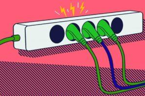 Порядок освобождения от электрического тока